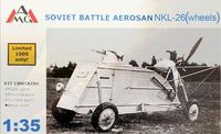 Soviet Battle Aerosan NKL-26 (wheels)
