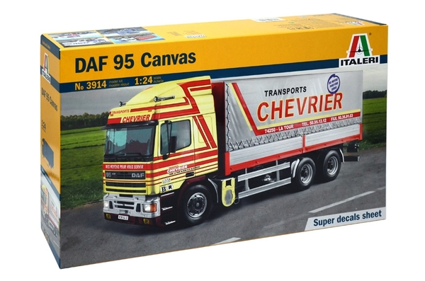 DAF 95 Canvas Truck - Image 1