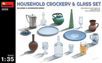HOUSEHOLD CROCKERY & GLASS SET - Image 1