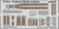 Typhoon Mk.Ib seatbelts Airfix  A19002 - Image 1
