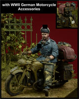 HG Division Motorcycle Rider with accessories for motorcycle - Image 1