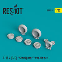"F-104 (F/G) ""Starfighter"" wheels set"