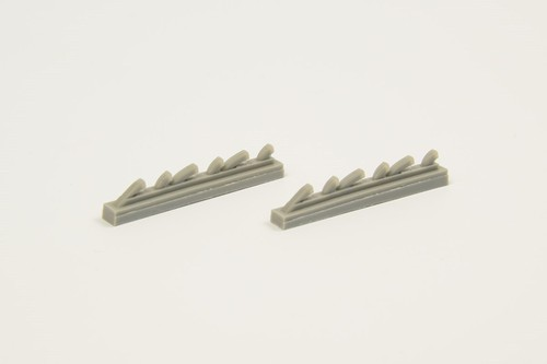 Yak-3 Exhausts for Special Hobby kit - Image 1