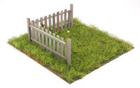 Wooden Fence A - Image 1