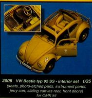 VW Beetle interior  CMK