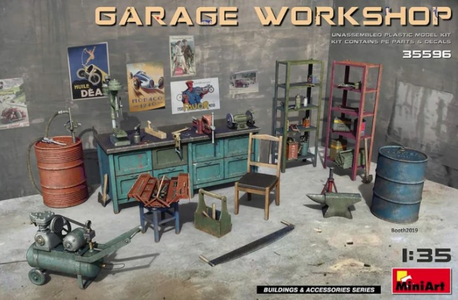 Garage workshop - Image 1