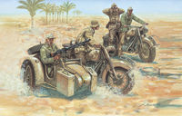 WWII German Motorcycles - Image 1