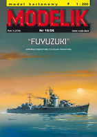 Japan destroyer FUYUZUKI