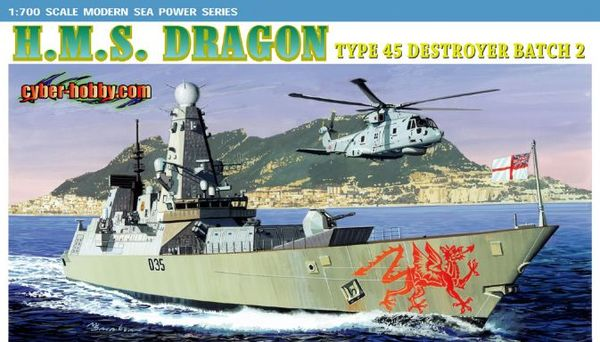 H.M.S. Dragon Type 45 Destroyer Batch 2 - Image 1