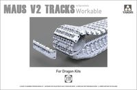 Maus V2 Tracks with sprockets for Dragon kits