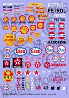 Oil & Gas Station decals