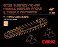 9M38 Surface-to-air Missile Display Racks & Missile Container