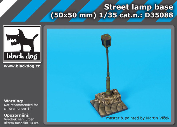Street lamp base - Image 1