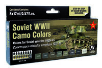 71188 Model Air - Soviet WWII Camo Colors Set