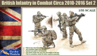 British Infantry In Combat Circa 2010~2012 Set 2