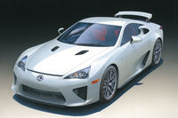 Sports Car Lexus LFA