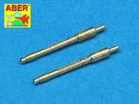 Set of 2 German barrels for 13mm aircraft machine guns MG 131 (early type)