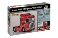 Scania R560 V8 HighlineRed Griffin - Image 1