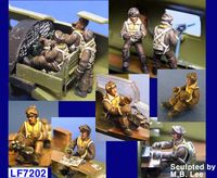 B-17 Flying Fortress Crew set 10 Figures - Image 1
