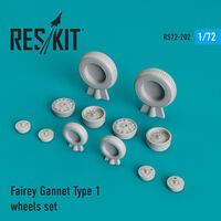 Fairey Gannet Type 1 wheels set - Image 1