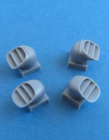 Harrier GR.1/3 exhaust nozzles for Airfix - Image 1