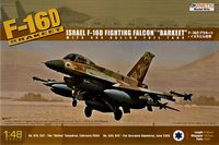 General Dynamics  F-16D IDF Barakeet with 600 Gal tank - Image 1