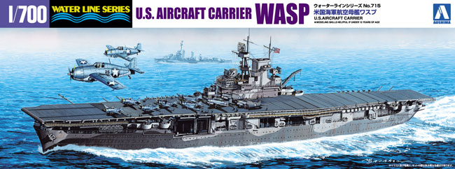 US Navy Aircraft Carrier WASP - Image 1