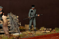 Crew for 2 cm Flak 38. 1944-45 years. 5 figures