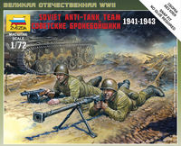 Soviet Anti-Tank Team (1941-1943) Art of Tactic