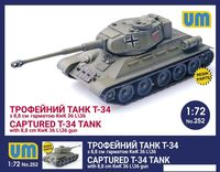 T-34/76 with 8,8 cm (captured) - Image 1