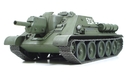 Russian Tank Destroyer SU-122 - Image 1