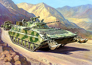 BMP-2E Russian infantry fighting vehicle (Afgan War) - Image 1