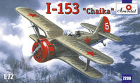 Polikarpov I-153 Chaika Soviet IIWW fighter