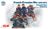 French-Prussian War, 1870-1871 French line infantry