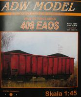 408 EAOS. Wagon coal carriage/ Wagon węglarka