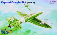 "Caproni Campini N1 Italian jet aircraft in ""What if"" marking"