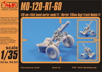 "MO-120-RT-61, ""120 mm rifled towed mortar, model F1"" / Mortier 120mm Rayé Tracté Modele F1 - full re"