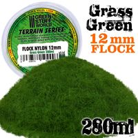 Static Grass Flock 12mm - Grass Green - 280 ml - Image 1