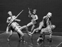 Soviet Marines and German Infantry, Hand-to-hand Combat, 1941-1942. Eastern Front Battle Series, Kit No. 2  - Image 1