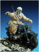 German motorcyclist, WW2 Eastern Front - Image 1