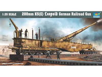280mm K5(E) Leopold German Railroad Gun