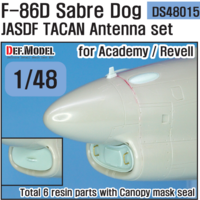 F-86D Sabre dog TACAN Antenna set (for Academy/ Revell 1/48)