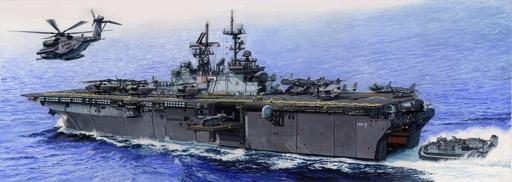 /Maqueta de USS Iwo Jima LHD de 7 Trumpeter 05615/
