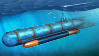 German Molch Midget Submarine