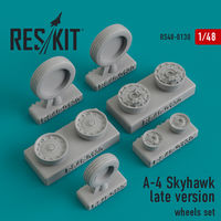 A-4 Skyhawk late version wheels set - Image 1