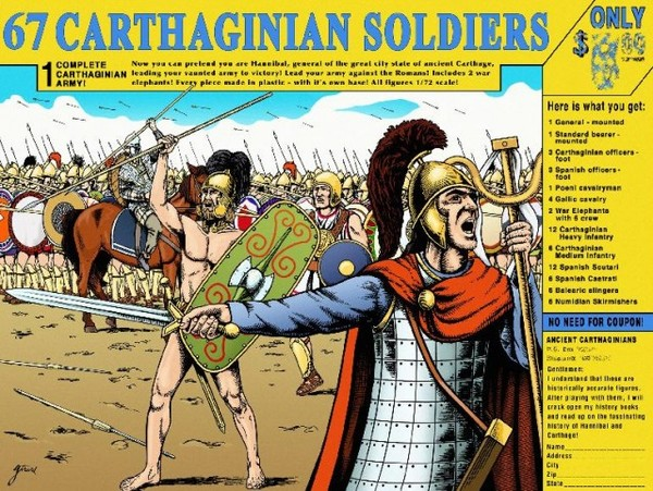 67 Carthaginian Soldiers - Image 1