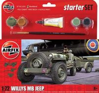 Willys MB Jeep - Starter Set