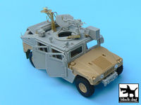 IDF Uparmored Humvee conversion set for Tamiya kit, 50+ resin parts & PE parts - Image 1