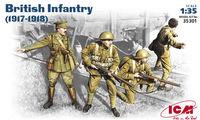 British WW1 Infantry