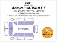 Admiral CABRIOLET (ICM/ REVELL) - Double sided